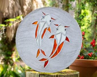 Koi Fish Goldfish Stepping Stone #765