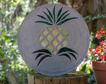 Pretty Pineapple Stepping Stone #850