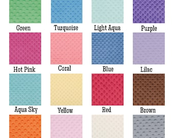 Minky Changing Pad Cover - ALL COLORS