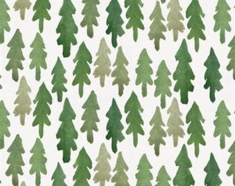 Crib Sheet - Green Forest