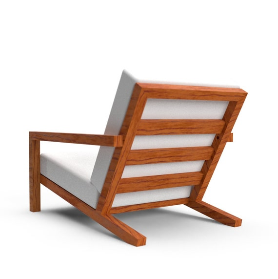 Pleasant Modern Outdoor Garden Lounge Chair Stool Diy Building Plan Construction Drawing Blueprint For Home Worker To Make Yard Art Gmtry Best Dining Table And Chair Ideas Images Gmtryco