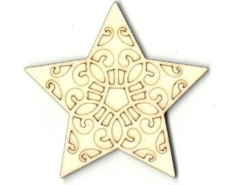 Star Shape Cut Out