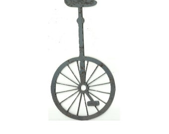 unfinished metal etsy 36 Inch Concrete Pipes unicycle plasma cut out unfinished metal shape bik2m