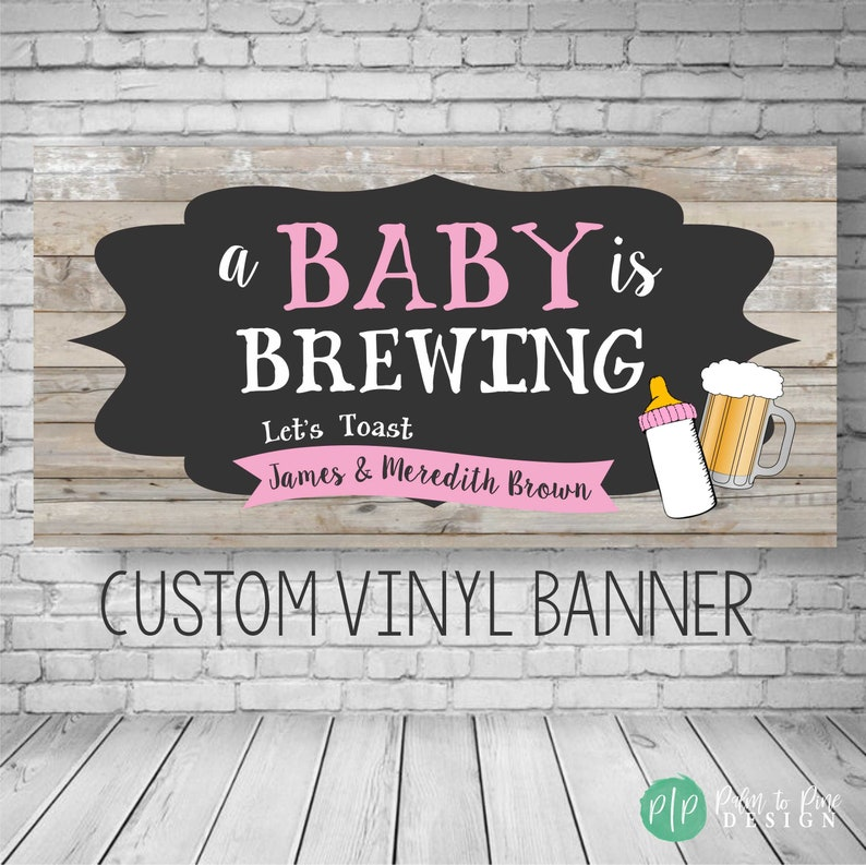A Baby is Brewing Beer Bottle Labels, Baby Shower Beer Bottle Labels,  Custom Beer Bottle Labels, Beer Baby Shower Labels, Beer Baby Shower