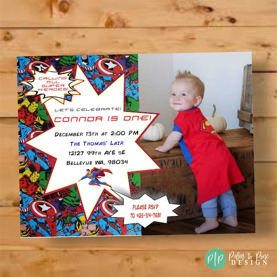 superhero birthday invite superhero invitation comic book birthday