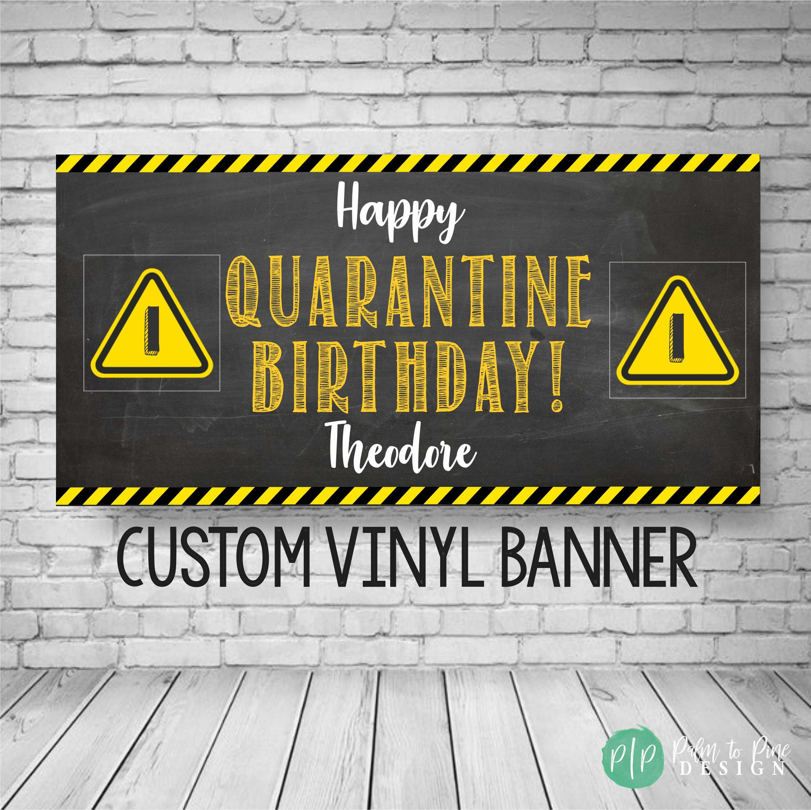Quarantine Birthday Party Decorations Quarantine 1st Birthday Backdrop Quarantine Birthday Funny Decor Stay Home Party Banner Social Distancing Party Favors Green Quarantine Birthday Party Banner
