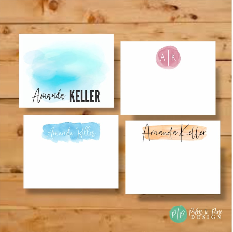 Personalized Stationary Stationary Cards Teacher Gift image 0