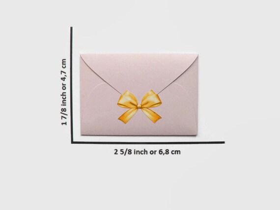 Lilas minis enveloppes avec des ensembles de autocollants, 50 cartes et autocollants, de cartes de remerciement, 25230c