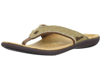 b9634f68609b Spenco Yumi Straw Java Cork Men s Total Support Sandals. LeatherCareSupply