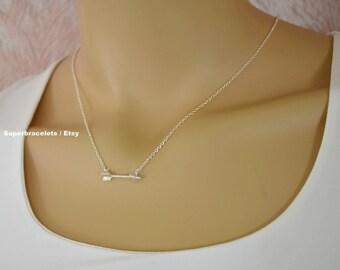 silver arrow necklace, gold arrow necklace, Arrow necklace, necklace arrow, arrow pendant necklace, pendant necklace arrow, arrow pendant