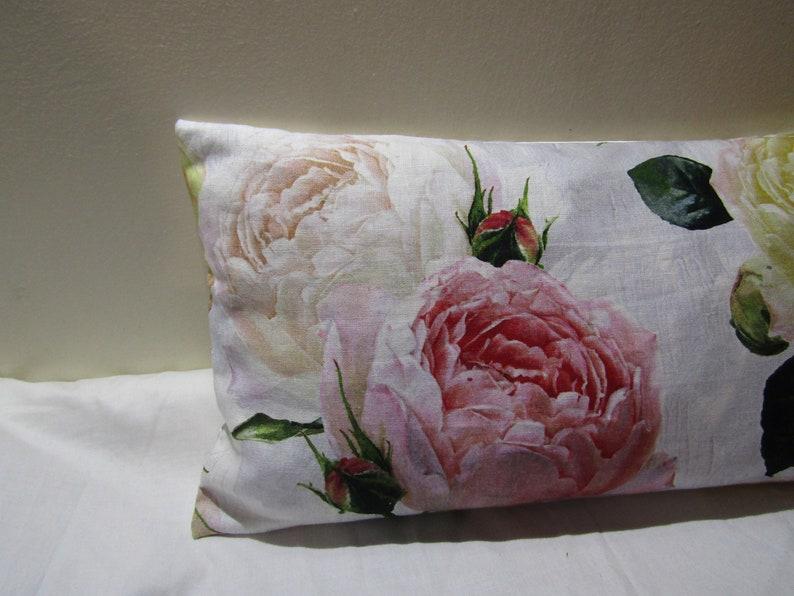 Designers Guild floral 100/% Linen Fabric Tourangelle Peony Cushion Cover