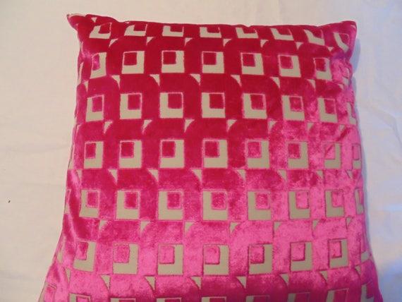 Designers Guild Fabric Pugin Fuchsia  Cushion Covers