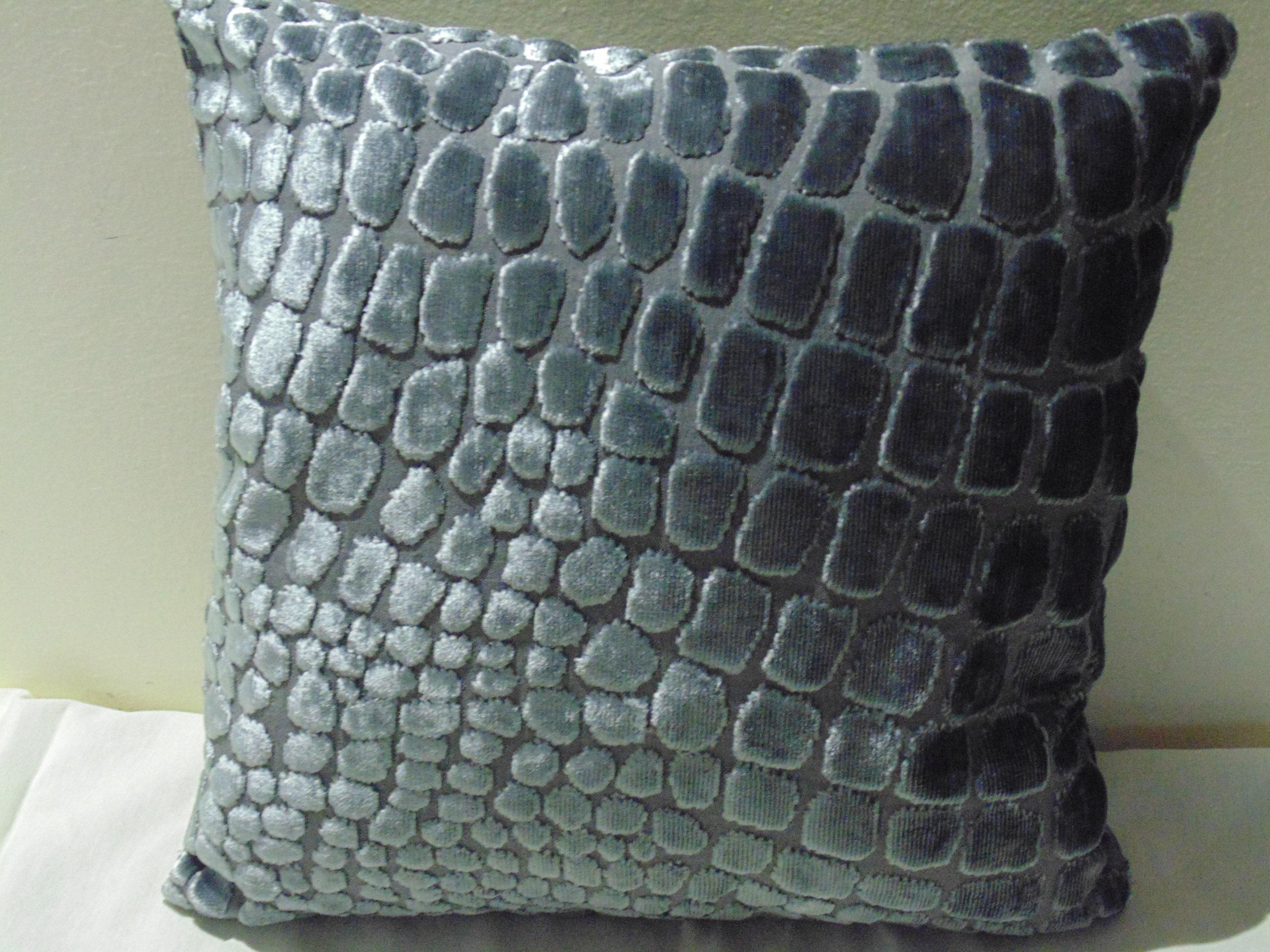 Designers Guild Tissu Leighton Cobalt housses de coussin