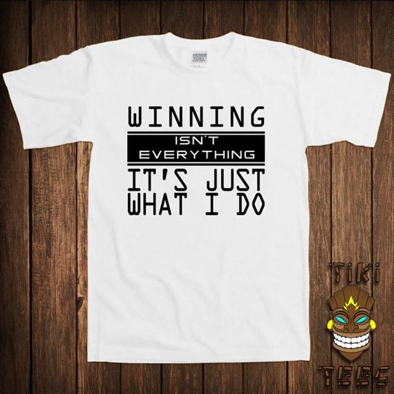 486ec6679 Funny T-shirt Geek Nerd Tshirt Tee Shirt Winning Isn't   Etsy