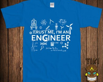 I'm An Engineer T-shirt Engineering Tshirt Tee Shirt Science Math Physics Gift For Him Fun College Humor Cool Geek Nerd