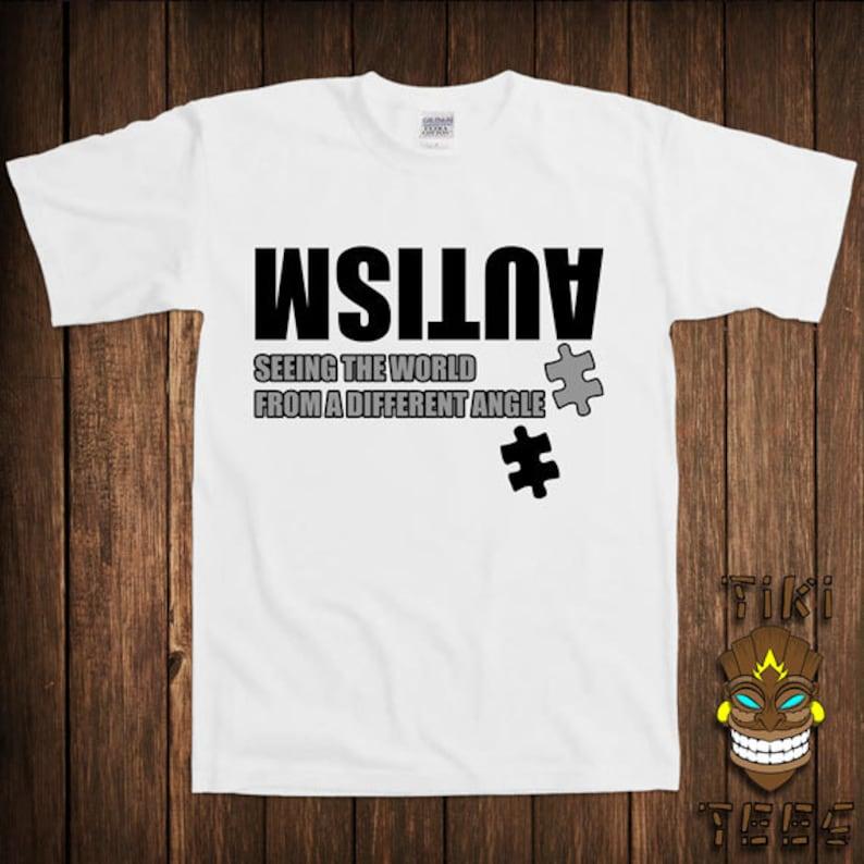 9a29821f Funny Autism Awareness T-shirt Autistic Tshirt Tee Shirt | Etsy