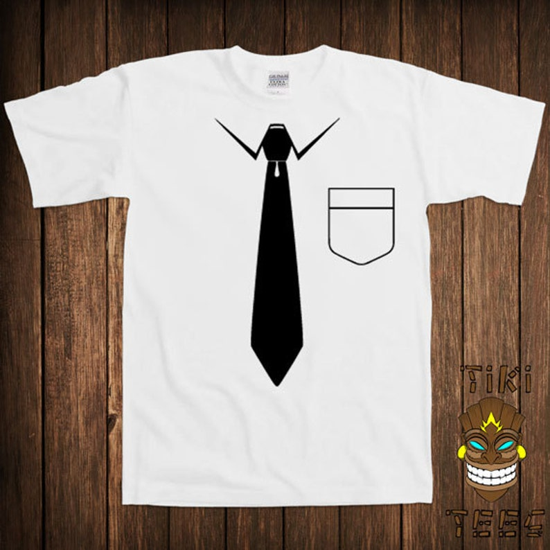 53c5c3c812 Funny Redneck Office Attire T-shirt Fake Suit Tshirt Tee Shirt | Etsy