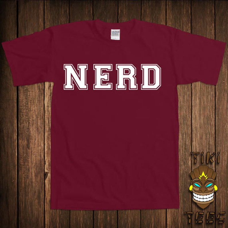 c2336f9b8 Funny Nerd T-shirt Geek Tshirt Tee Shirt Geeky Nerdy Gift For   Etsy