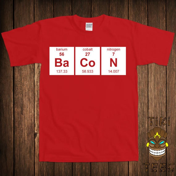 Periodic Table Of Elements Science Chemistry Funny DT Youth Kids T-Shirt Tee