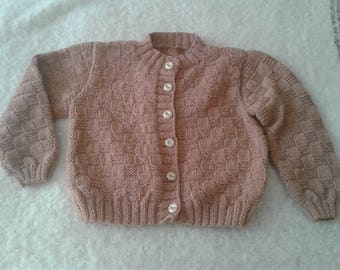 A Pink Sweater For a 6 Yr Old Girl