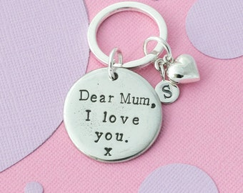Mum keyring - mum gift - mum birthday - new mum - special mum - love you mum - mum keychain - gift for mum - mothers day gift