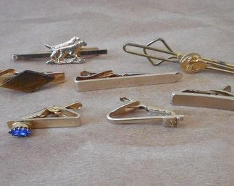 Vintage Tie Bar   Tie Clip Collection 0e44370f6