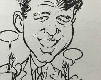 1962 Kennedys Coloring Book Parody Satire Political Illustration