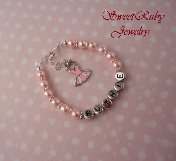 ROSE PINK PEARL /& CRYSTAL CHARM BRACELET CHOICE WEDDING /& FAMILY MESSAGE HEART