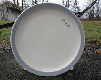 New York Central System R/&R Train Oval Porcelain Sign