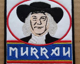 Dave Murray Embroidered patch Iron Maiden Quaker Oats