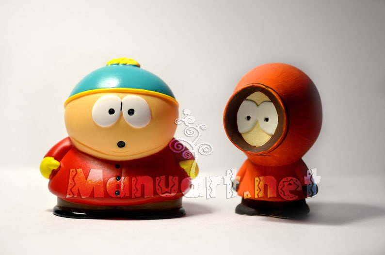 silicone mould candle mold cartoon hero mold soap mold South Park Kenny 3D silicone mold