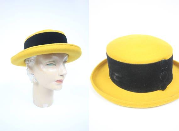Accessoryo Damen Strohhut Hut mit schwarzem Bogen Band
