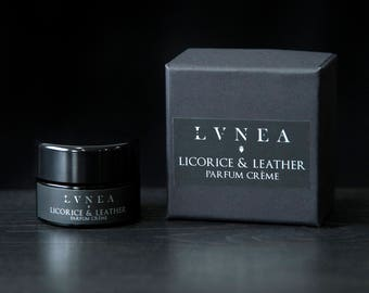 Licorice and Leather - Parfum Créme - Natural Solid Perfume