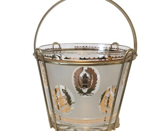 Vintage-Century Ice Bucket With Caddy