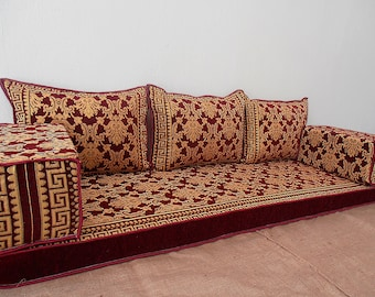 Charmant Floor Couch,oriental Floor Seating,Bohemian Furniture,Arabic Majilis Sofa,floor  Seating Sofa, Ethnic Sofa,living Room Sofa 24