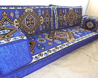 Sofa, Floor Couch, Oriental Floor Seating, Arabic Style Majlis Floor Sofa  Set, Floor Seating Sofa,bohemian Furniture,living Room Sofa