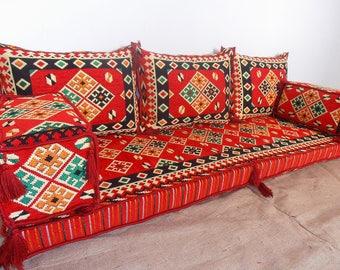 Merveilleux Oriental Floor Seating, Arabic Style Majlis Floor Sofa Set, Floor Couch,  Floor Seating Sofa, Ethnic Sofa,bohemian Furniture,living Room Sofa