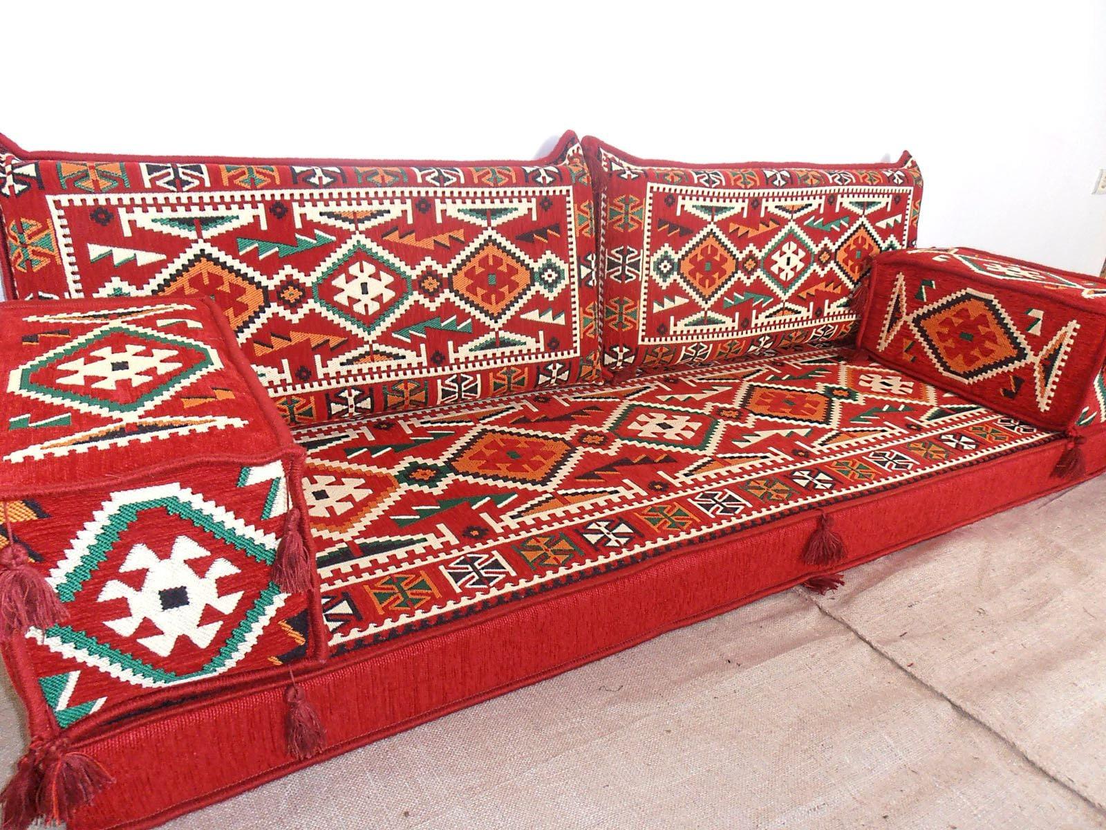 arabischen stil majlis boden sofa-set boden couch | etsy