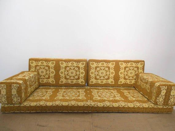 Bohemian Furniture , Arabic style majlis floor sofa set, floor couch, floor  seating sofa, ethnic sofa,bohemian furniture,living room sofa
