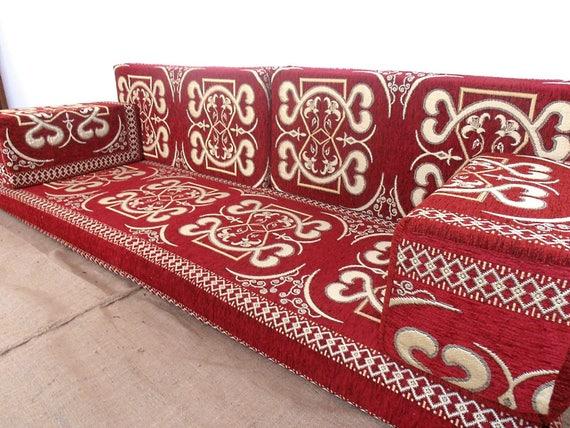 Arabic Style Majlis Floor Sofa Set Floor Couch Oriental | Etsy