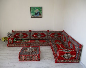 corner seating,Arabic majilis,L shaped sofa set, floor couch,oriental floor seating, Ottoman couch , ethnic sofa, bohemian furniture,