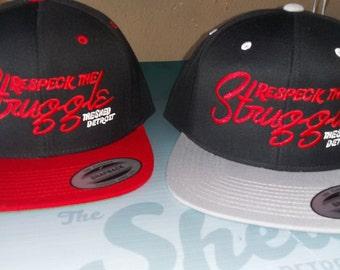 df3bee86511 Respeck the Struggle snapback baseball caps