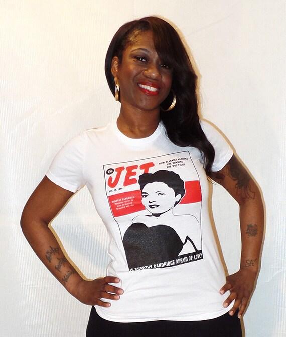Jet Magazine Dorothy Dandridge Ladies Tee Etsy