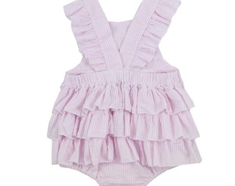 0f315bf32077 Ruffle-Bottom Romper