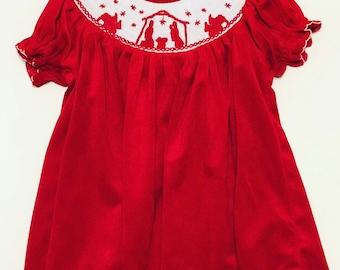 Velvet Baby Dress Etsy