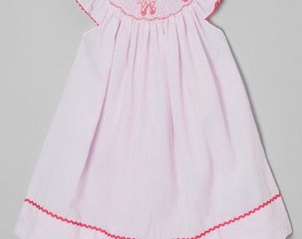 7b65cfb335f9 Smocked bonnet