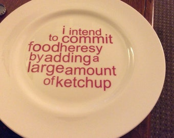 ketchup plate (second)