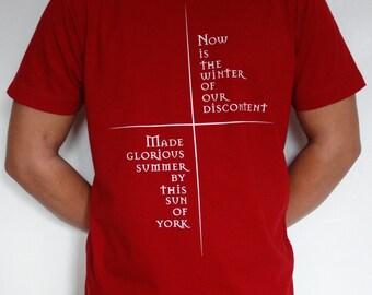 Richard III literary T-shirt