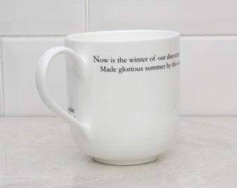 Richard III Literary Giant Bone china cup