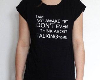 Women's Not Awake T-shirt